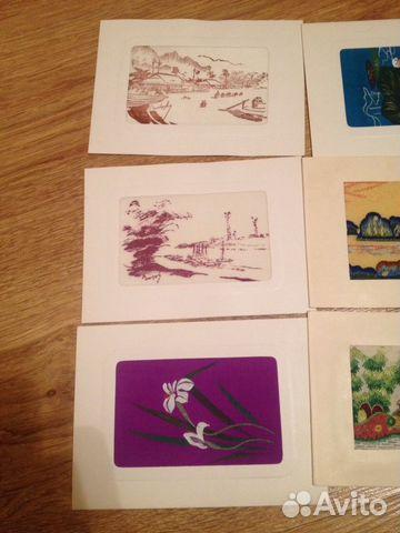 Европейский открытки 60-70 годов