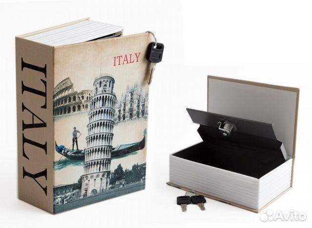 b71dd341f Новая Сейф-Книга Италия купить в Смоленской области на Avito ...