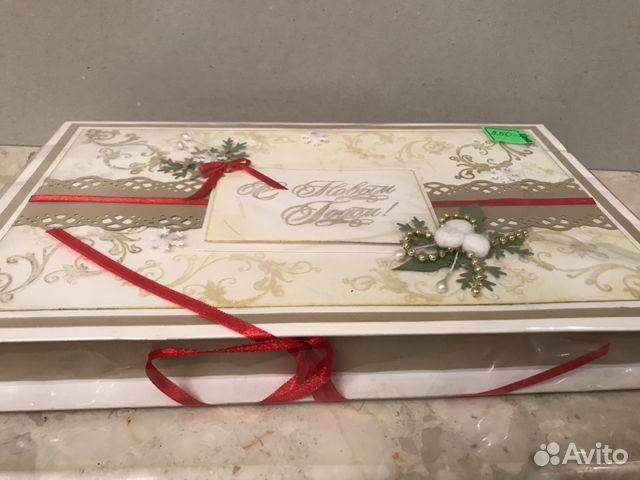 Подарочная коробка «С Новым Годом». Handmade 89114516362 купить 4