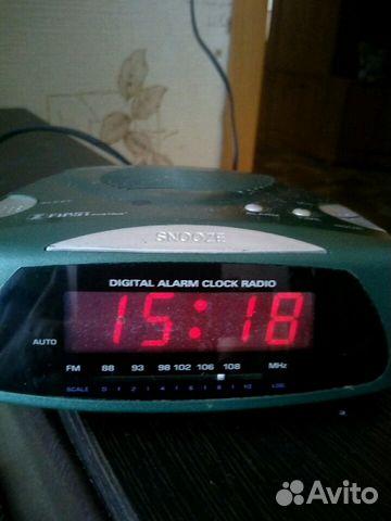 Радио часы будильник. 1982год выпуск Австрия 89068063274 купить 1