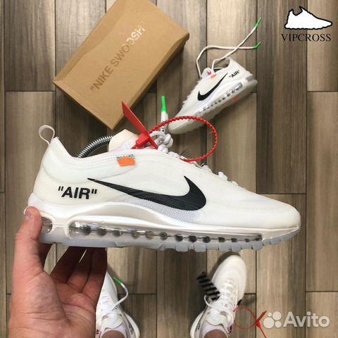 a48bc8d4 Кроссовки Nike Air Max 97 Off-White купить в Омской области на Avito ...