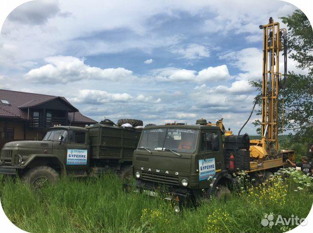 Бурение скважин на воду московская область в кредит
