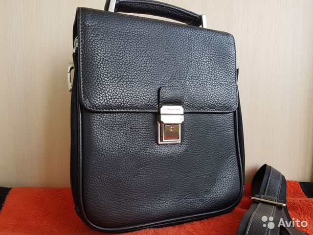 c6da522cf7e8 Деловая сумка Gerard Henon (Франция, нат. кожа) купить в Ростовской ...