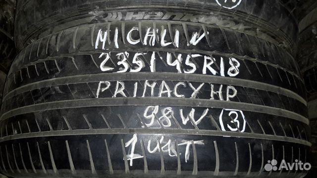 89805377242  235/45 R18 Michelin б/у 1шт