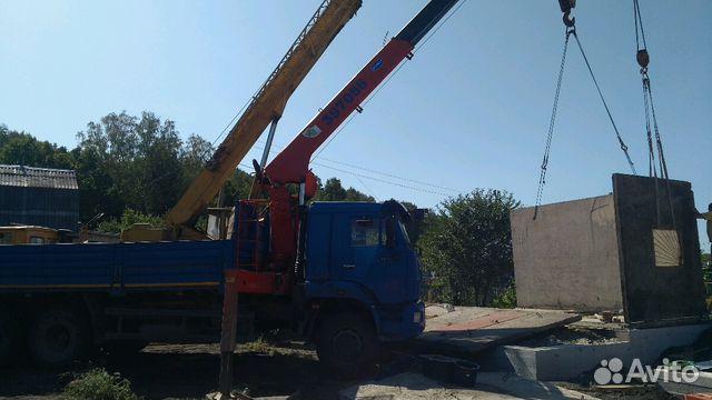 Кран-Манипулятор 7 тонн, автовышка купить 6
