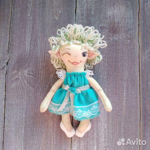 Кукла Эльфочка интерьерная 89617020393 купить 2