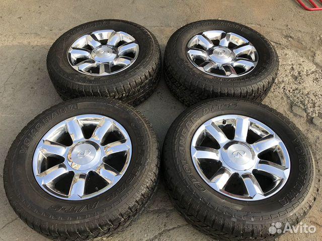 89084427716 Casting QX56 chrome with Yokohama tires 285/60R18