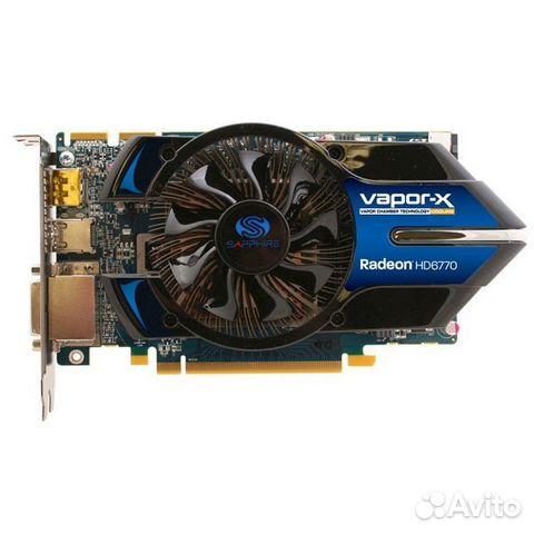 Видеокарта PCI-E 1Gb ATI Radeon HD6770 Sapphire