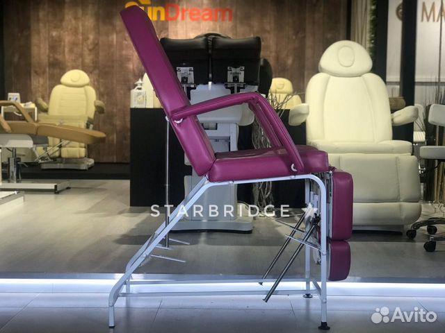 Кресло педикюрное цв. розовый 89282266618 купить 4