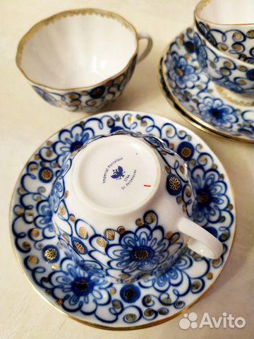 Чайный сервиз Императорский фарфор 89114895040 купить 3
