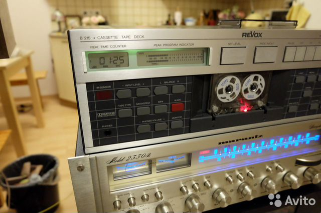 Revox B-215 cassette deck