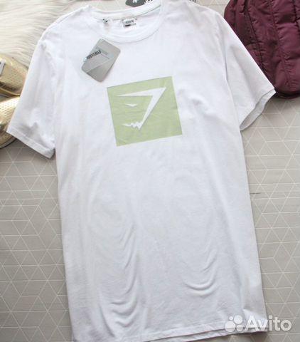 89229092100 Стильная футболка gymshark оригинал