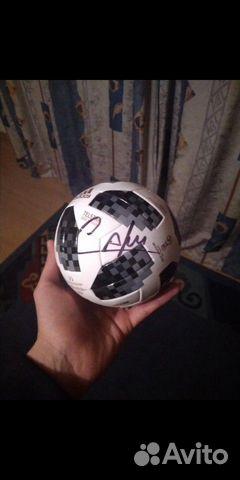 Мяч с автографом Kafu 89212612290 купить 1