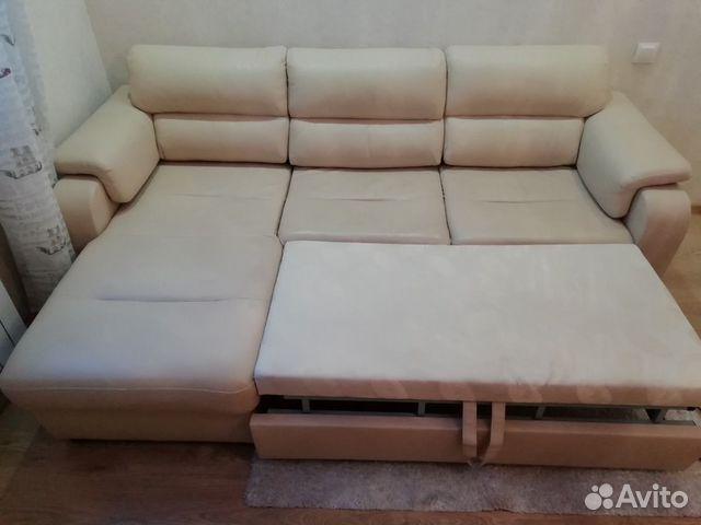 Диван угловой кожаный 89271200278 купить 2