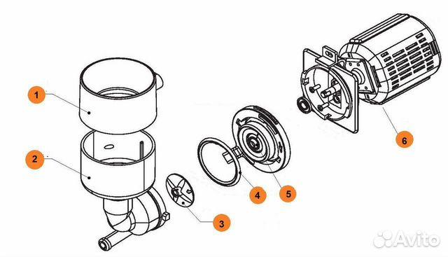 U0000125897 мотор-редуктор выдачи порошков