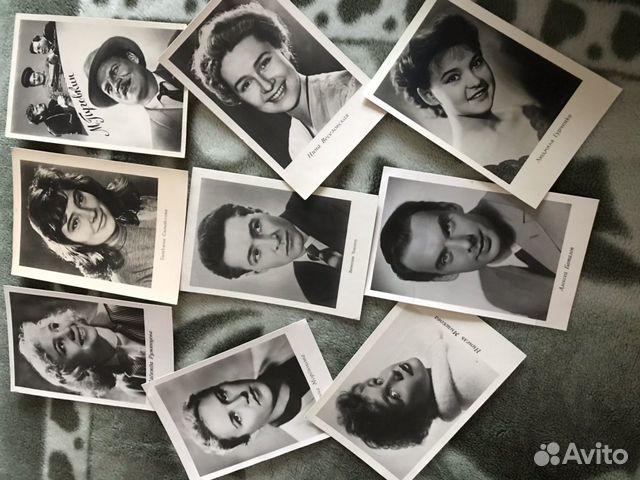 Фото-открытки актеров ссор  89780507789 купить 1