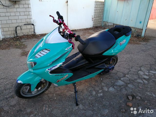 Yamaha aerox купить 4