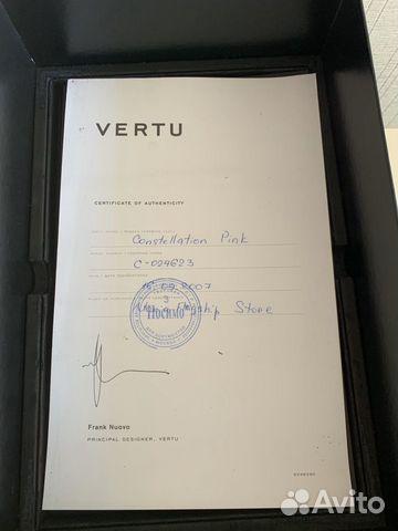 Телефон Vertu Constellation Оригинал