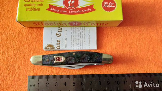 Нож Kissing Crane Trapper Since 1834  купить 3