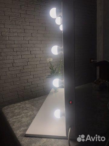 Гримерное зеркало с полочкой  89383042005 купить 7