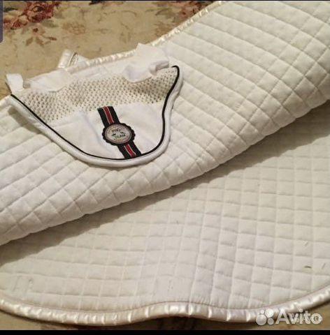 Белый конкурный/на пони вальтрап и ушки  89520858700 купить 2
