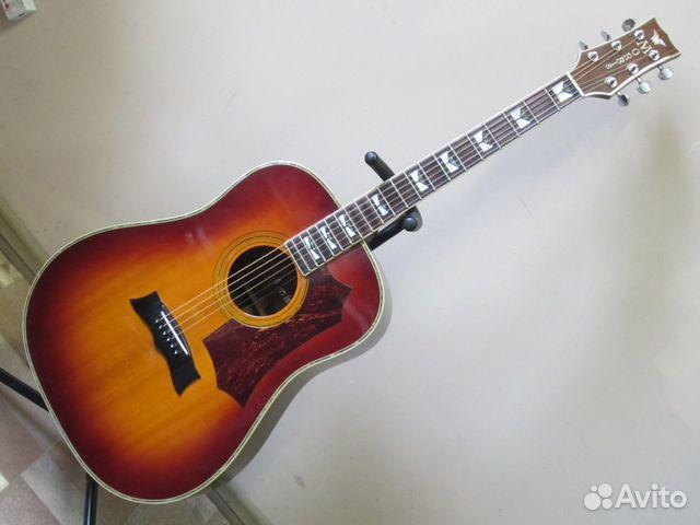89025069832  Акустическая гитара Morris MG-60 (1989-1995 Japan)