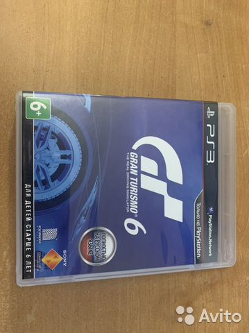 Gran Turismo 6 PS3  89046803036 купить 1