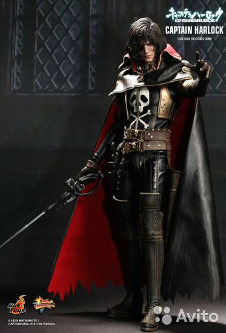HOT toys Space Pirate Captain Harlock Аниме— фотография №1