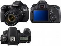 Продаю японский фотоаппарт Canon D60 kit 18-135