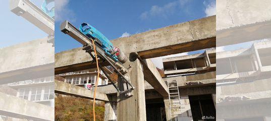 разбитие бетона