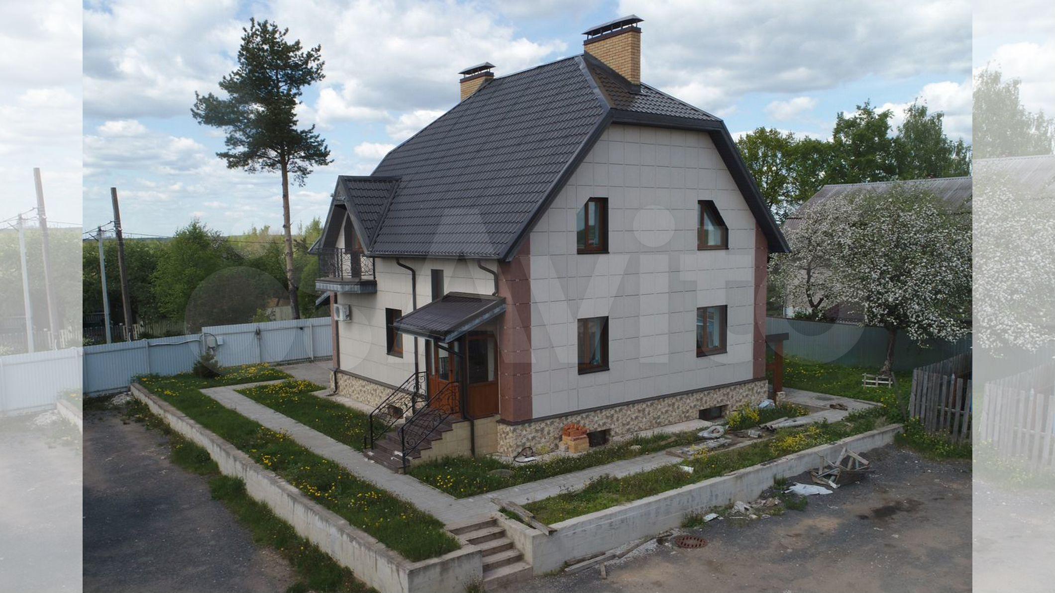 Коттедж 247.5 м² на участке 29 сот. в Новгородской области | Недвижимость | Авито