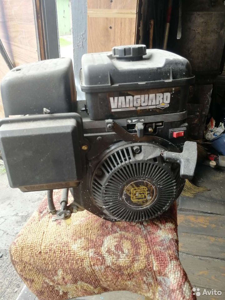 Двигатель Briggs & Stratton Vanguard 6.0 для мотоб