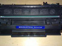Продам универсальный картридж Q5949A/Q7553A