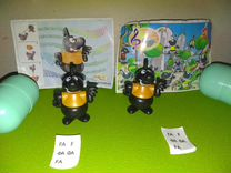 Игрушки из киндера. Астерикс,Бэтмен,Том и Джерри,Н