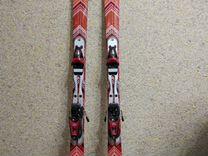 Горные лыжи Roxy + крепления (комплект)