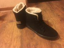 Ботинки зимние. Искусственный мех