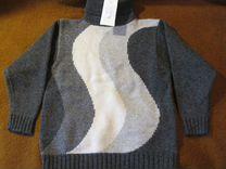 Фирменная рубашка и свитер + шапка