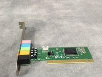 Звуковая карта PCI 8738, 5.1, bulk (asia 8738lx 6