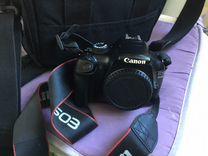 Фотоаппарат камера Canon 1100 D без объектива