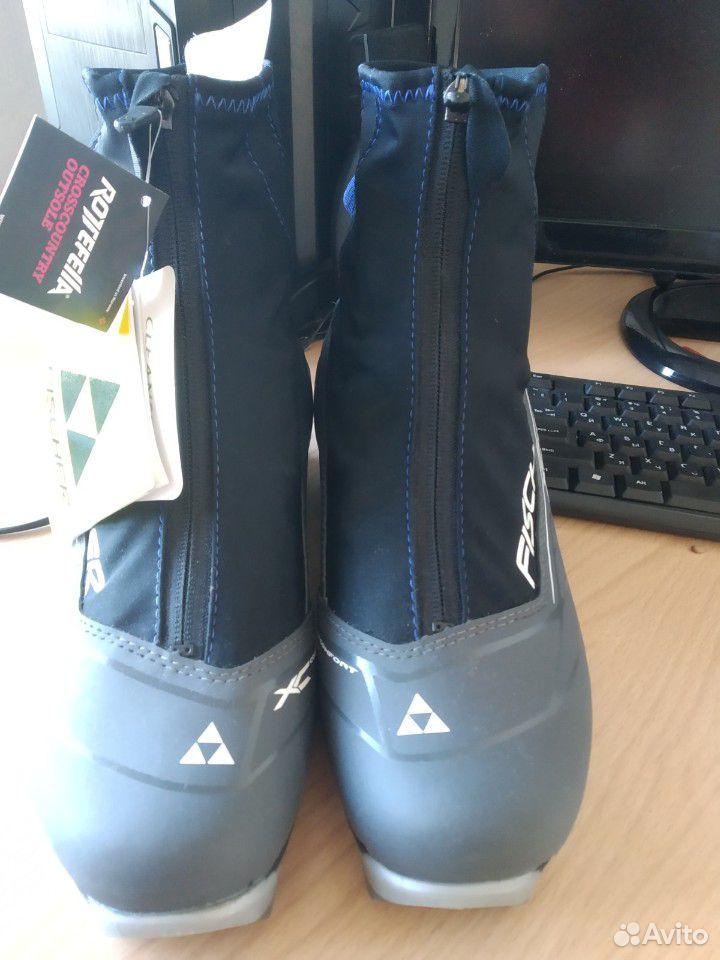 Ботинки лыжные Fischer XC Comfort 44р  89511465463 купить 2