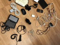 Даром:Роутер, зарядки, навигаторы, телефон