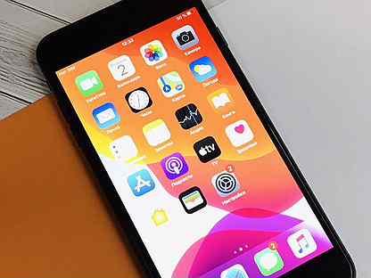 256GB iPhone 7 Plus Black / Ростест / Оригинал