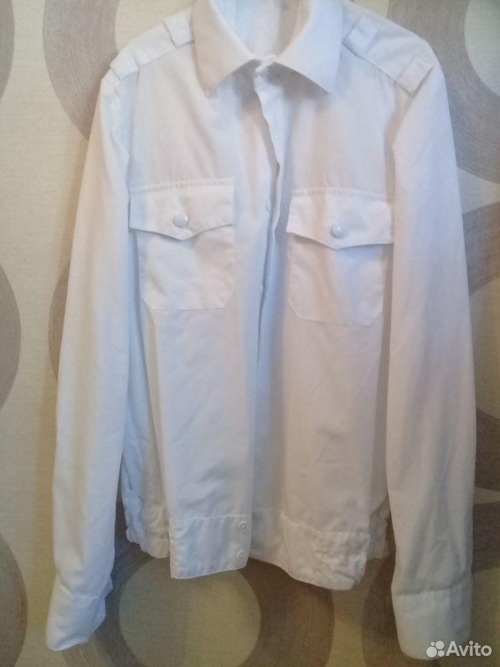Кадетская форма Рубашка белая новая рост 150