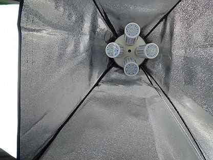 Софтбоксы 2шт с лампами 8шт (сумка в комплекте)