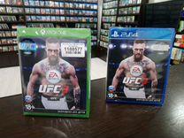 Новые диски EA sports UFC 3 Xbox PS