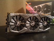 Видеокарта Asus GTX1080strix