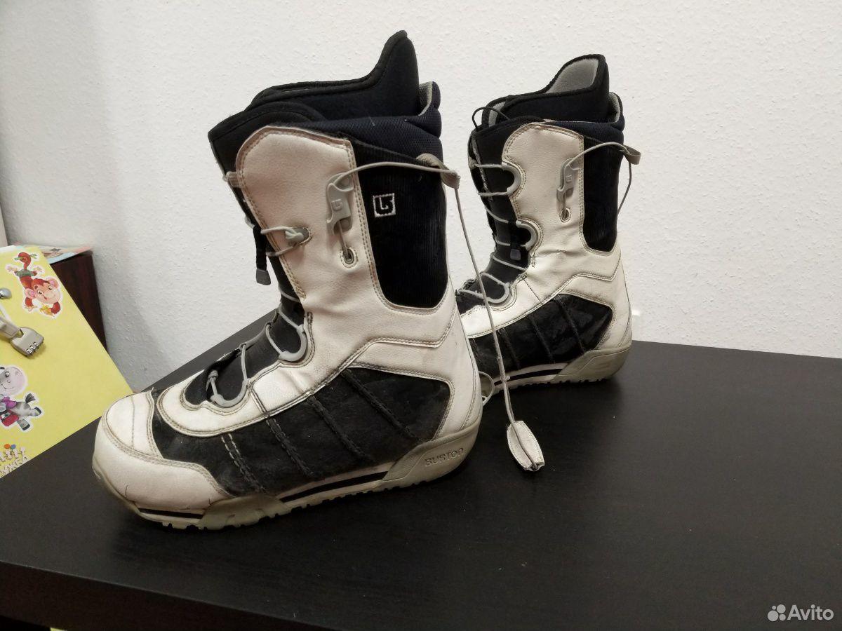 Сноубордические ботинки burton ruler 42 размер  89655330861 купить 3
