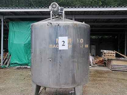 Ёмкость из нержавеющей стали Б/У 3000 литров