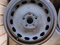Штампованные диски Volkswagen r16