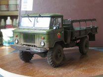 Сборные модели авто газ-66 вв. 1\35